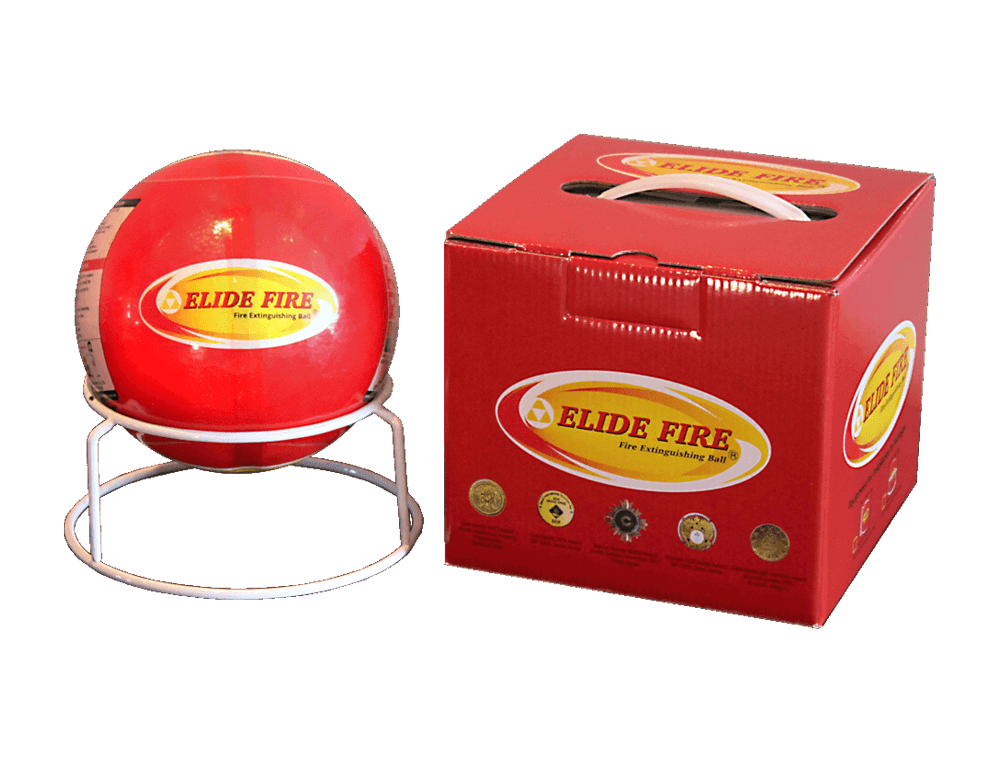Elide Fire ® - Fire Extinguishing Ball